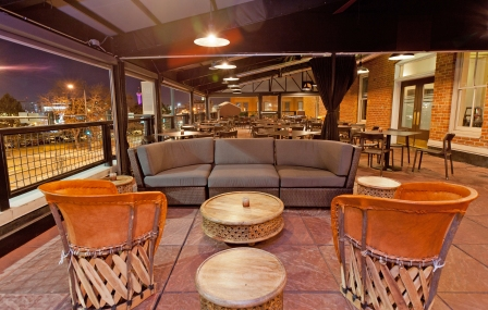 You could be here, on Tamayo's rooftop patio, watching the game. It'll be heated, don't you worry.